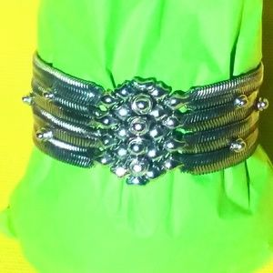 Sergio Gutierrez Liquid Metal Snake Bracelet SNB14